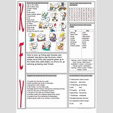 Free Time Activities Vocabulary Exercises Worksheet  Free Esl Printable Worksheets Made By Teachers