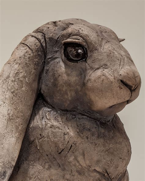 Rabbit Sculpture £1600 Sold - Nick Mackman Animal Sculpture
