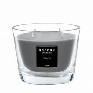 Bougie Baobab Soldes : bougie white rhino de baobab collection 4 tailles ~ Teatrodelosmanantiales.com Idées de Décoration