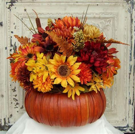fall floral arrangement thanksgiving centerpiece  countryprim