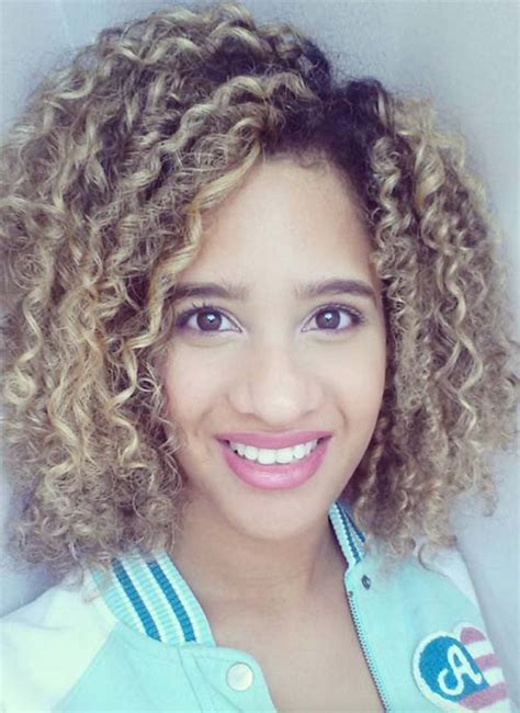 51 Lovely Short Curly Hairstyles: Tips for Healthy Short Curls