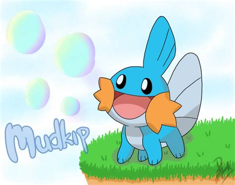 mudkip by ppoint555 on deviantart