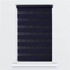 Store Enrouleur Jour Nuit : store enrouleur jour nuit filtrant bleu marine jn14 ~ Edinachiropracticcenter.com Idées de Décoration