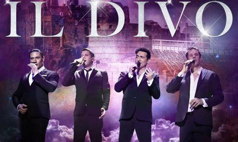 Gruppo Il Divo - il divo anuncia show in 233 dito no brasil no primeiro