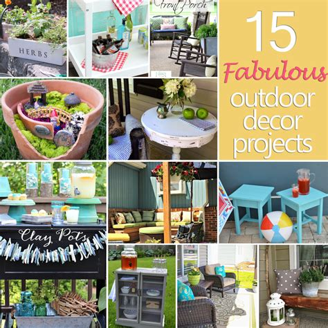 diy outdoor decorations 15 fabulous outdoor d 233 cor projects confessions of a