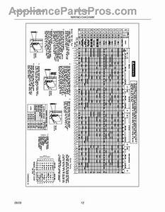 Parts For Frigidaire Gleh1642fs4  Wiring Diagram Parts