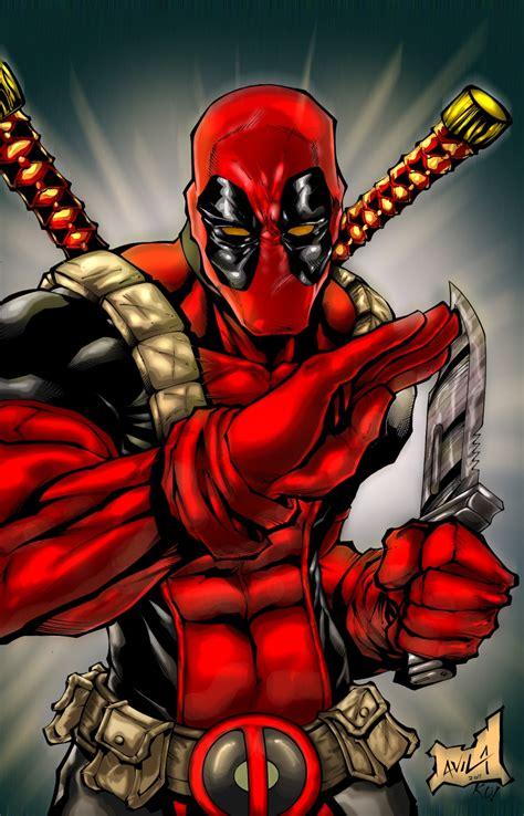 Deadpool By Artofmalacaibrown On Deviantart