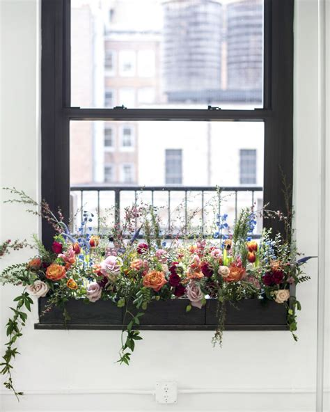 Outside Window Sill Planter by Interior Florals Our Contemporary Design Fixation
