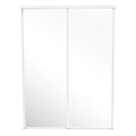 truporte 60 in x 80 in 230 series steel white mirror