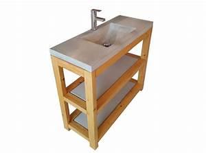Waschtisch Aus Beton : waschtisch aus beton mit unterschrank die betonagerie ~ Lizthompson.info Haus und Dekorationen