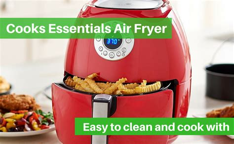 fryer air essentials cooks guide cook contents table use