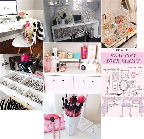 modele de coiffeuse de chambre lilia inspirations rangement maquillage et chambre 2
