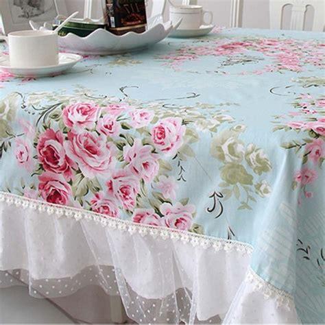 shabby chic table cloths shabby chic tablecloth
