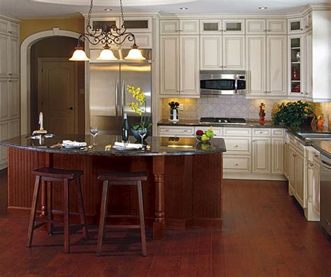 kitchen craft islands painted maple cabinets with cherry kitchen island 1033