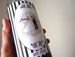 5 easy ways to personalize the wedding diy weddings custom With diy custom wine labels