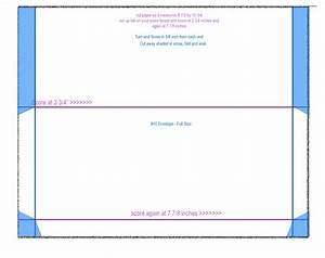 10 envelope size template pictures to pin on pinterest With number 10 envelope template