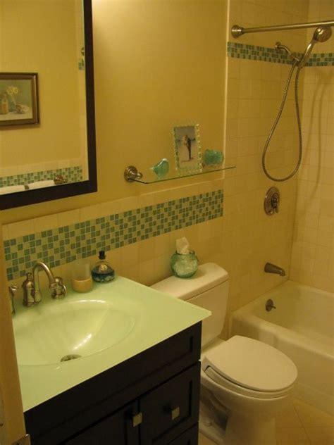 bathroom reno  large vanity   space small
