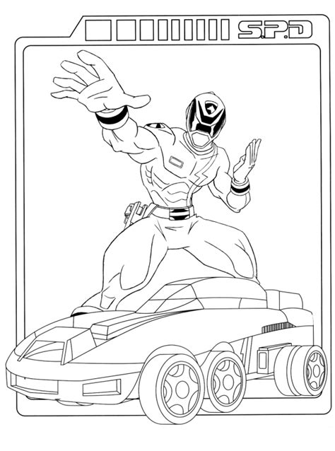 coloring pages power rangers animated images gifs pictures animations