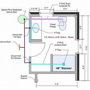How To Plumb A Basement Bathroom  U2013 Home Design Tips