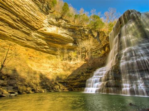 Hiking Burgess Falls State Park near Nashville, TN ...