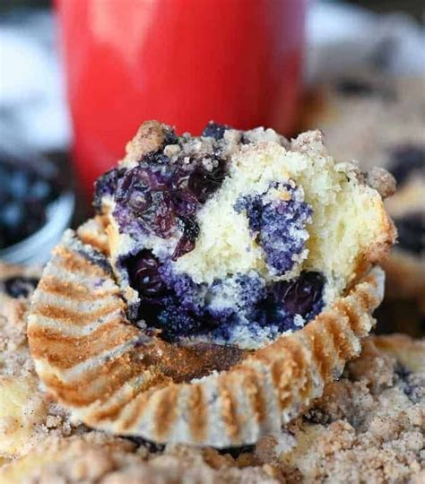 Learn how to make sour cream coffee cake muffins. Sour Cream Blueberry Muffins Recipe -Butter Your Biscuit   Recipe in 2020   Sour cream blueberry ...