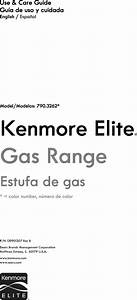 Kenmore Elite 79032623314 User Manual Gas Range Manuals