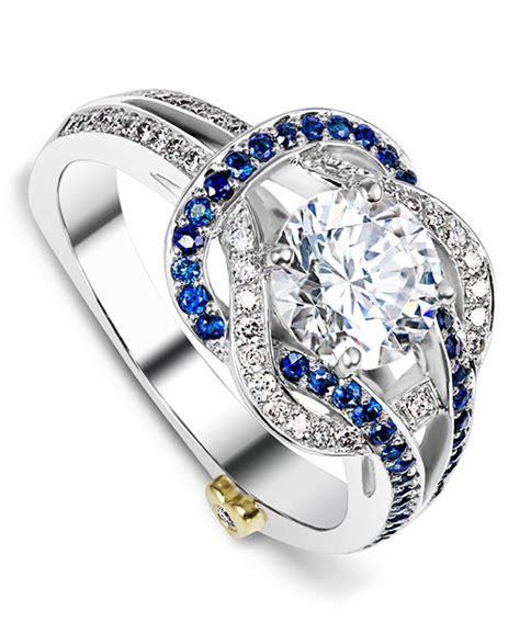 entangle contemporary engagement ring mark schneider design