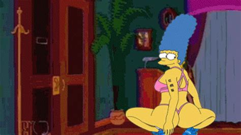 marge simpson gif find share  giphy