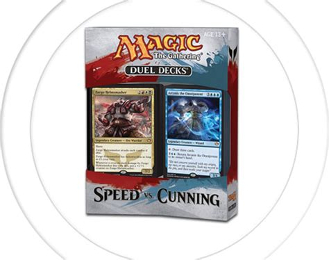 Magic The Gathering Preconstructed Decks 2014 by Magic The Gathering Speed Vs Cunning Duel Decks Review Vgu