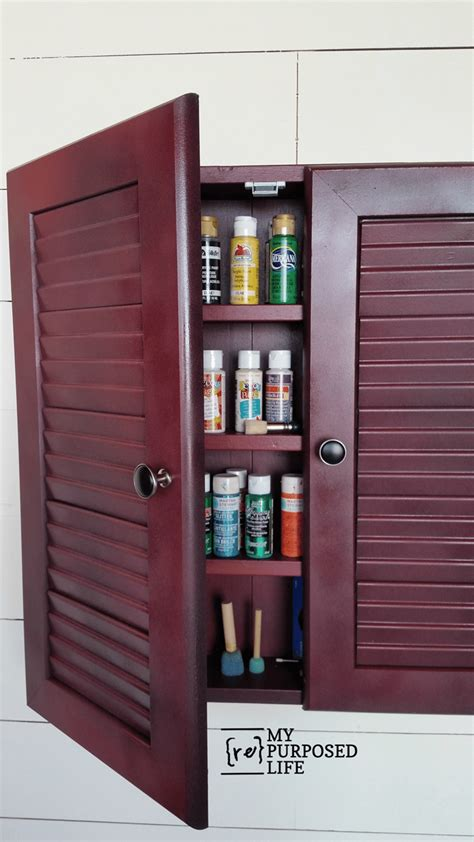 craft storage cabinets with doors wall cabinet craft storage repurposed doors my