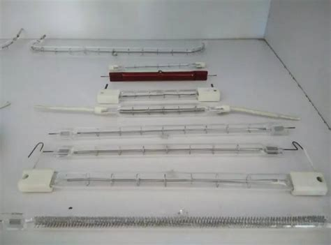 clear quartz infrared halogen heater l