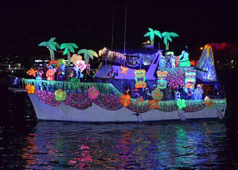 holiday boat parades  southern california