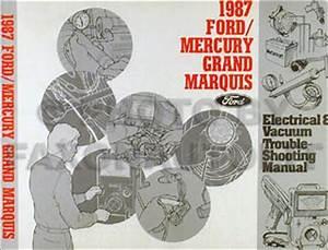 1987 Ford Ltd Crown Victoria Mercury Grand Marquis