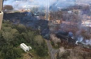 5 pm Eruption Update – Lava Flow Crosses Pohoiki, Cuts Off ...