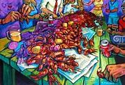 """Crawfish Berl"" New Orleans Art by Terrance Osborne ..."
