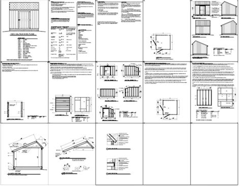 saltbox shed plans 12x16 10 x 12 saltbox shed plans how to build amazing diy