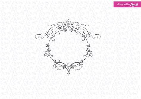 luxury wedding monogram creative logo templates creative market