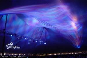 Breath taking lighting mimics the displays of northern