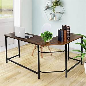 Vecelo, Home, Office, Desk, Modern, Style, L-shaped, Corner, Computer, Desk, -, Walmart, Com