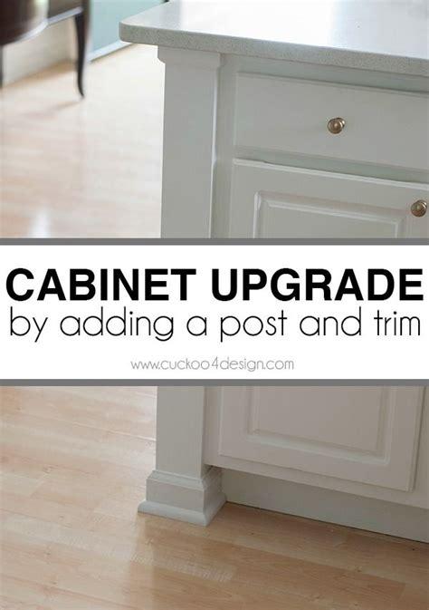 kitchen cabinet base trim 25 best ideas about kitchen cabinet molding on 5158