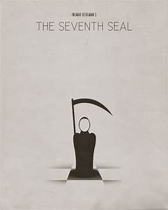 The Seventh Seal (1957) - Minimal Movie Poster by Paul ...
