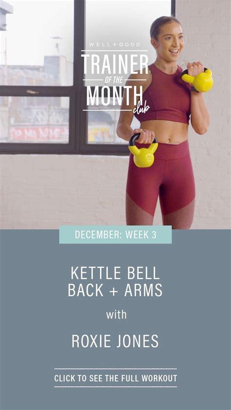 kettlebell chair wellandgood workout