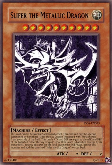 Obelisk The Tormentor Deck List by Metallic Madness 12 Casual Card Design Yugioh Card