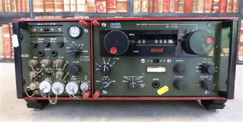 A Military Type Racal Ra217d Radio Receiver, Also Marked Ma323