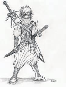 Cool Anime Ninja Drawings