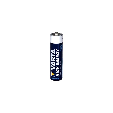 varta high energy aaa 50pk shrink wrap alkaline lr3
