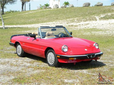 1989 Alfa Romeo Spider by 1989 Alfa Romeo Spider Auto New Car Gallery
