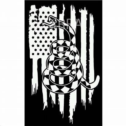 Tread Flag Dont Don American Vinyl Gadsden