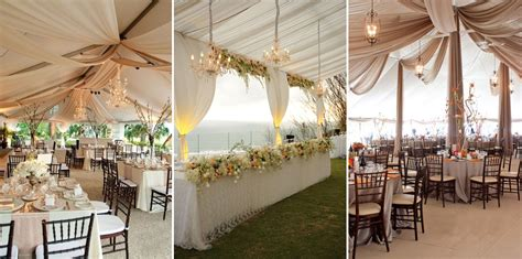 58 wedding tents decorations 25 cute backyard tent
