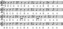 ode to joy letter notes - Google Search | Song | Pinterest